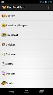 Find Fast Food- screenshot thumbnail