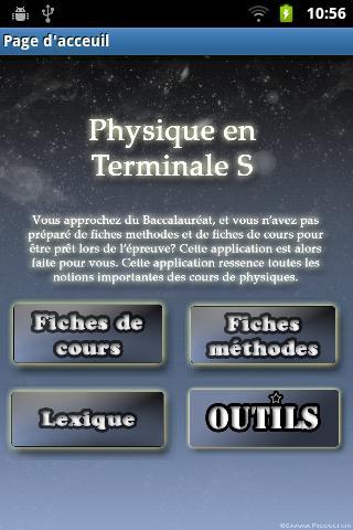 Fiches de Bac (physique)-FREE - screenshot