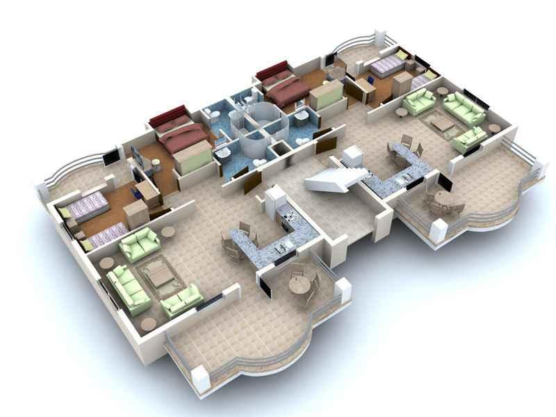 3D Haus Grundriss Design-Ideen - Google Play Store revenue ...