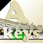 keys and frets icon