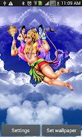 Screenshot of Hanuman at Sky Live Wall