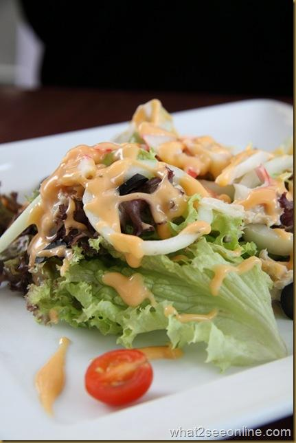 Chef S Salad 75 Celcius Restaurant And Bar Malaysia Food