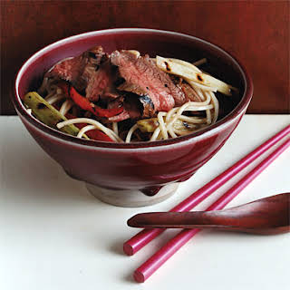 Thai-Style Beef with Noodles.