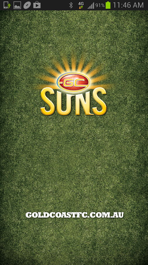 Gold Coast SUNS Official App - screenshot