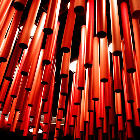 Red Glasses by Vaibhav Nahar - Artistic Objects Glass