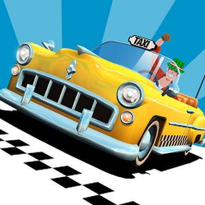 Crazy Taxi™ City Rush MOD APK+DATA v1.0.1 (1.0.1) (Mod Unlimited Money)