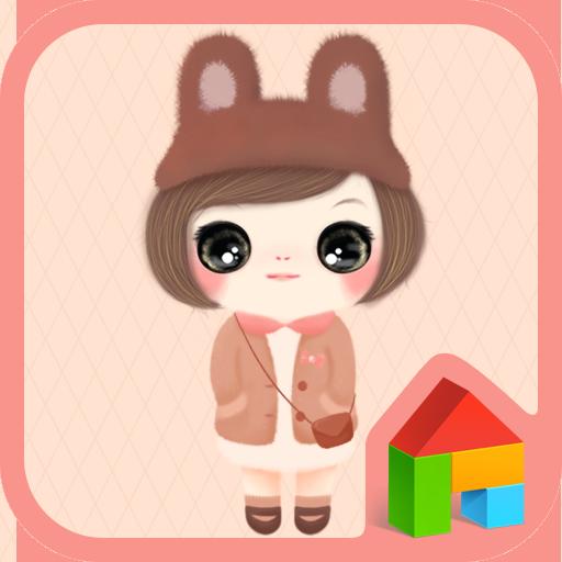 귀요미꼬망(가을) 도돌런처 테마 個人化 App LOGO-APP試玩