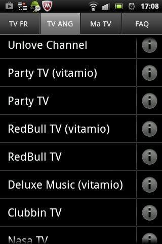 Stream TV Lite - screenshot