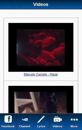 Marcelo Camelo Blue Fan - screenshot