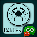 Cancer Zodiac Theme for GO SMS icon