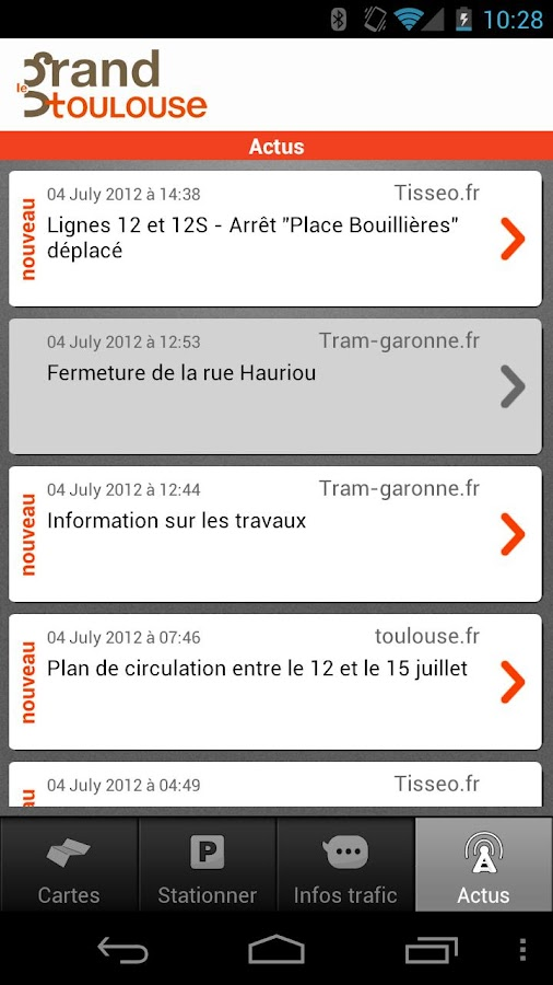 Toulouse Bouge - screenshot