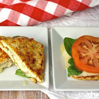 "Gluten-free Grilled Havarti Sandwiches With Cauliflower ""bread"""