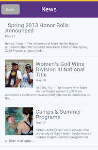 UMHB Cru Mobile- screenshot thumbnail