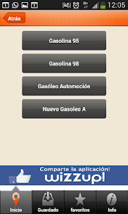 Wizzup! Cheap gasoline - Spain - screenshot thumbnail