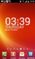 Screenshot of TypoClock Free