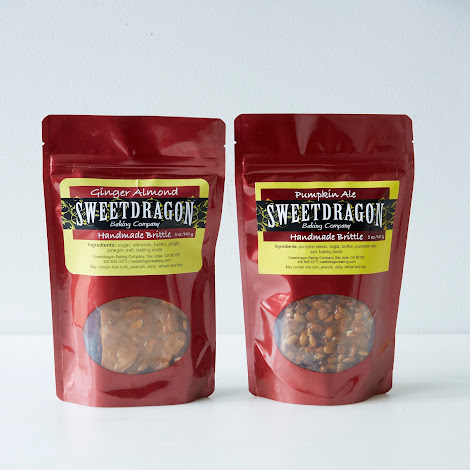 Pumpkin Ale & Ginger Almond Brittle