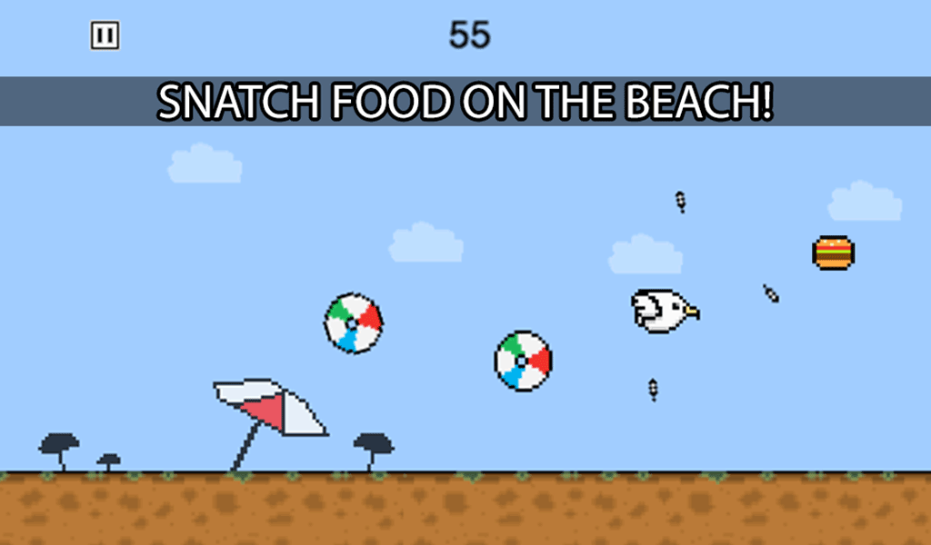 Seagulls Can't Fly? Free- screenshot