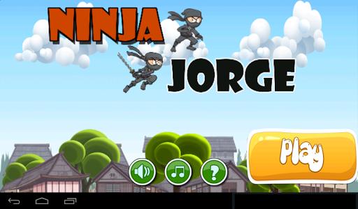 Ninja Jorge jump