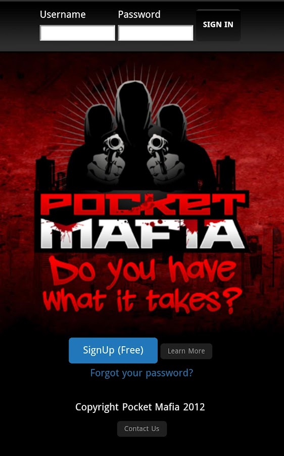 Pocket Mafia - screenshot