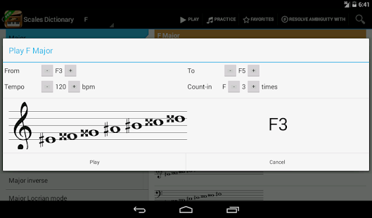 Piano Companion PRO: chords - screenshot thumbnail
