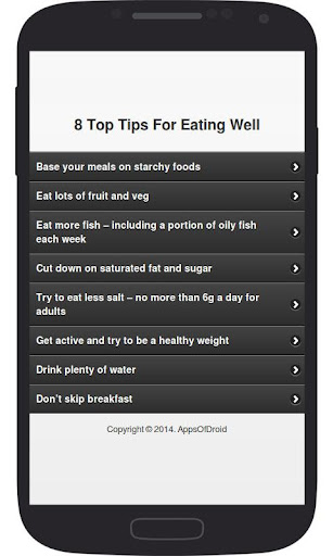 8 Top Tips For Eating Well