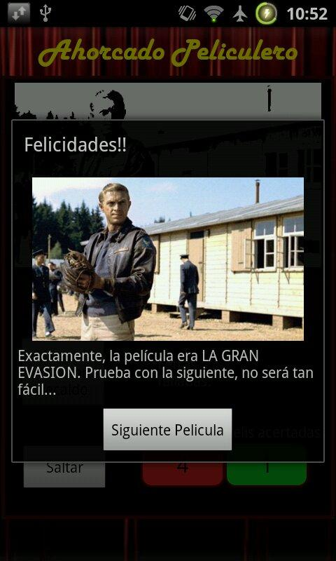 Ahorcado Peliculero Free - screenshot