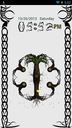Celtic Tree of Life Go Locker