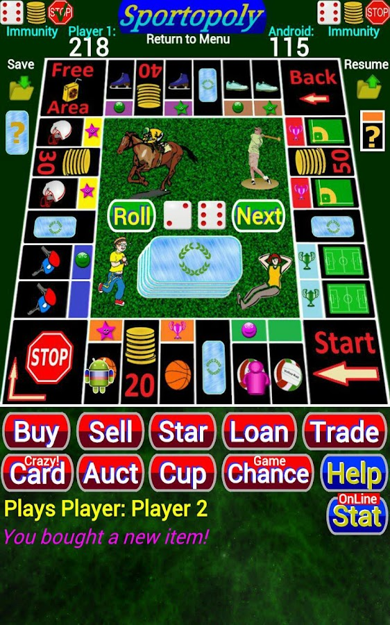 Sportopoly- screenshot