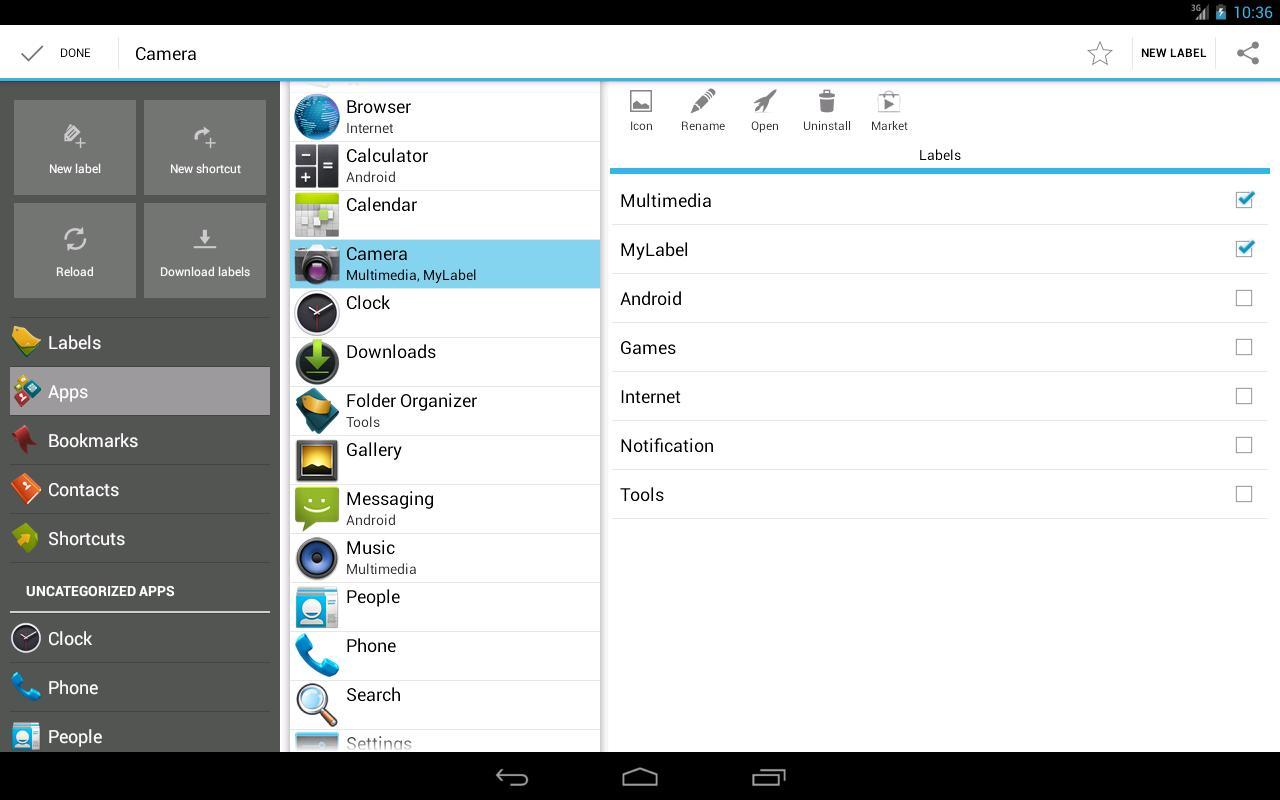 Folder Organizer- screenshot