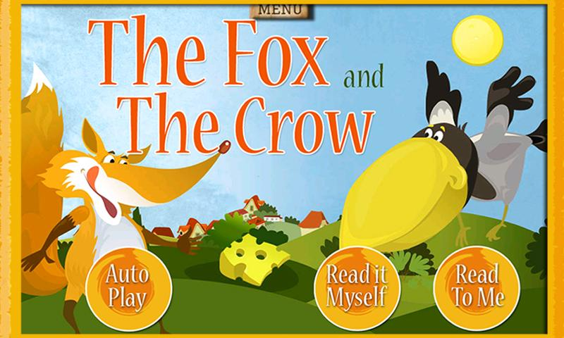 Fox & Crow Storybook for Kids- screenshot