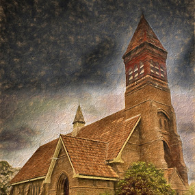 St Andrews Dapto by Anthony Rutter - Buildings & Architecture Places of Worship ( old, bundanoon, church, brick, art )