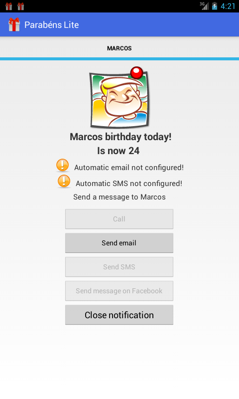 Happy Birthday- screenshot