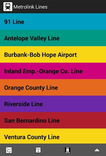 Next Stop LA Metrolink