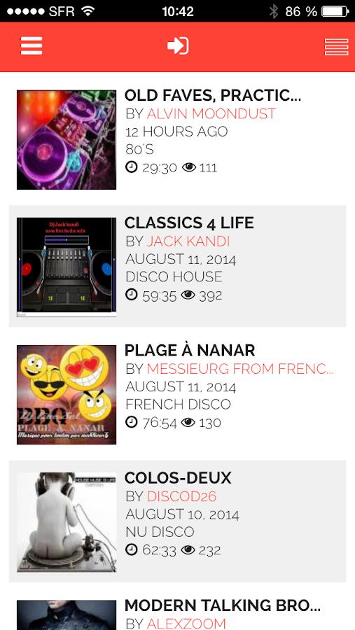 Disco Party by mix.dj - screenshot
