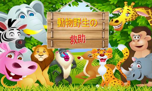 動物野生の救助