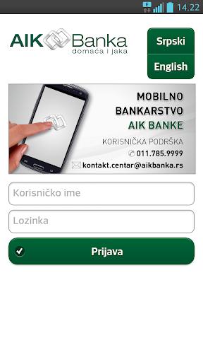AIK mobilno bankarstvo