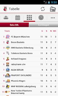 Brose Baskets - screenshot thumbnail
