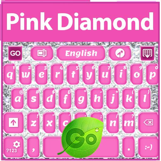 粉红钻石键盘 LOGO-APP點子