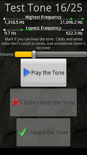 Test Your Hearing - screenshot thumbnail