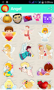 Stickers :Touch N Share- screenshot thumbnail