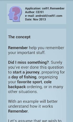 【免費生活App】Remember-APP點子