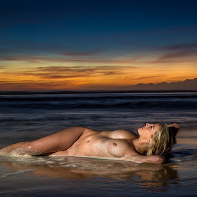 sunset swim by IDG Photography - Nudes & Boudoir Artistic Nude (  )