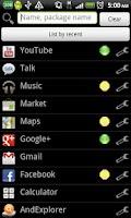 Screenshot of Keyword Launcher