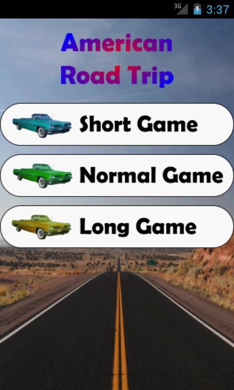 American Road Trip- screenshot