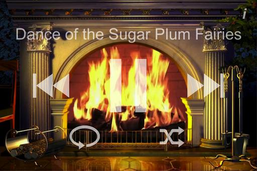 Fireside Christmas Music Free