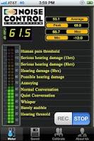 Screenshot of Noise Control Pro