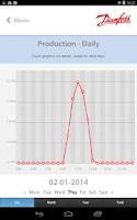 Screenshot of Danfoss SolarApp