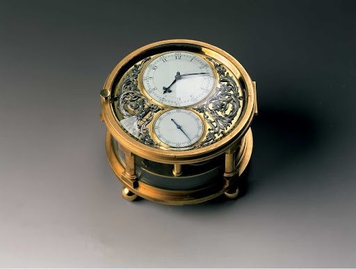 The Blue Marine Chronometer