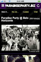 Screenshot of ParadiseParty