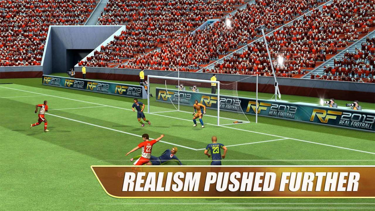 Real Football 2013- screenshot